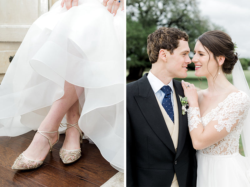 bella belle real bride review blaithin in frances low heel