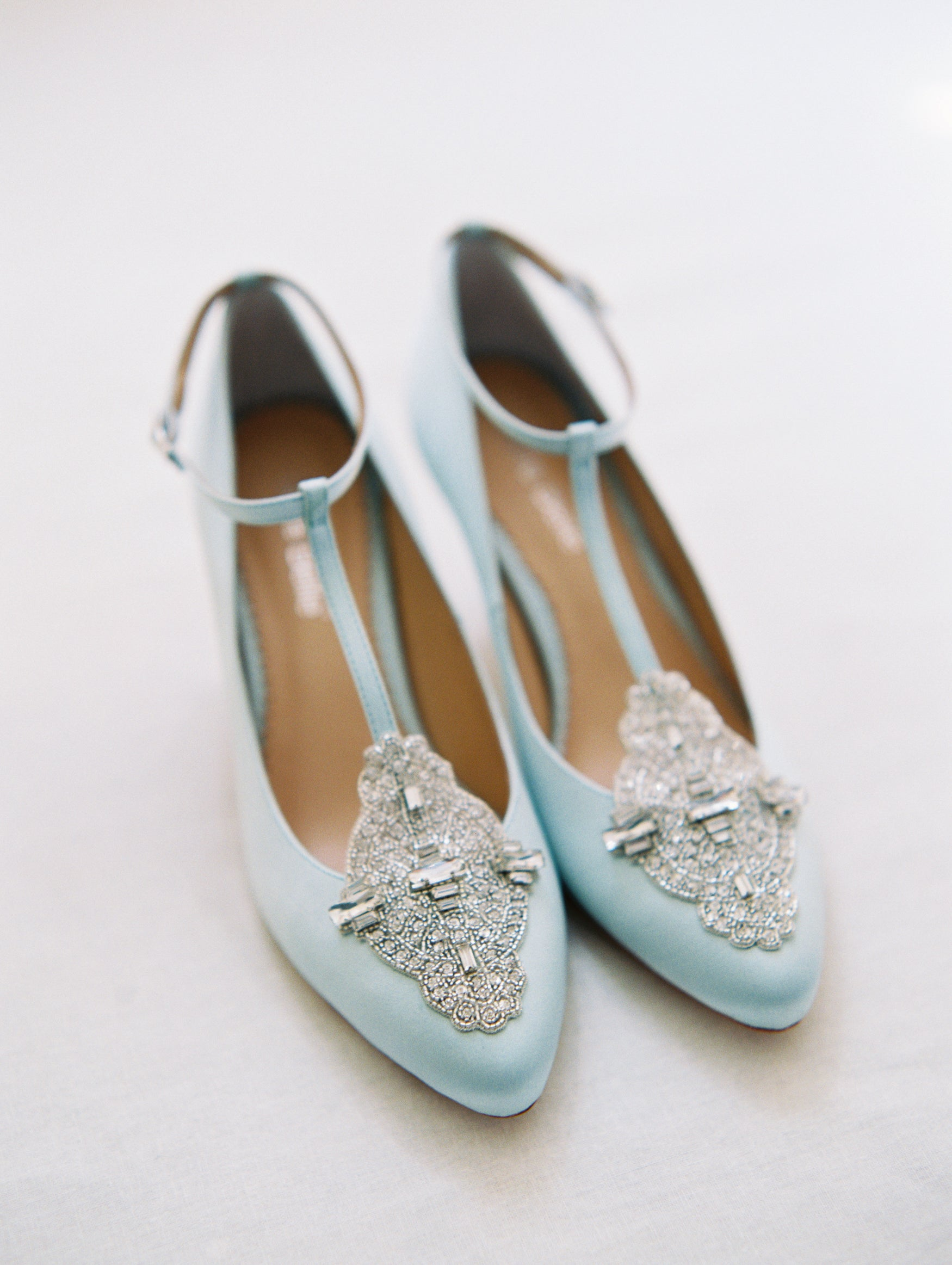 blue wedding heels uk