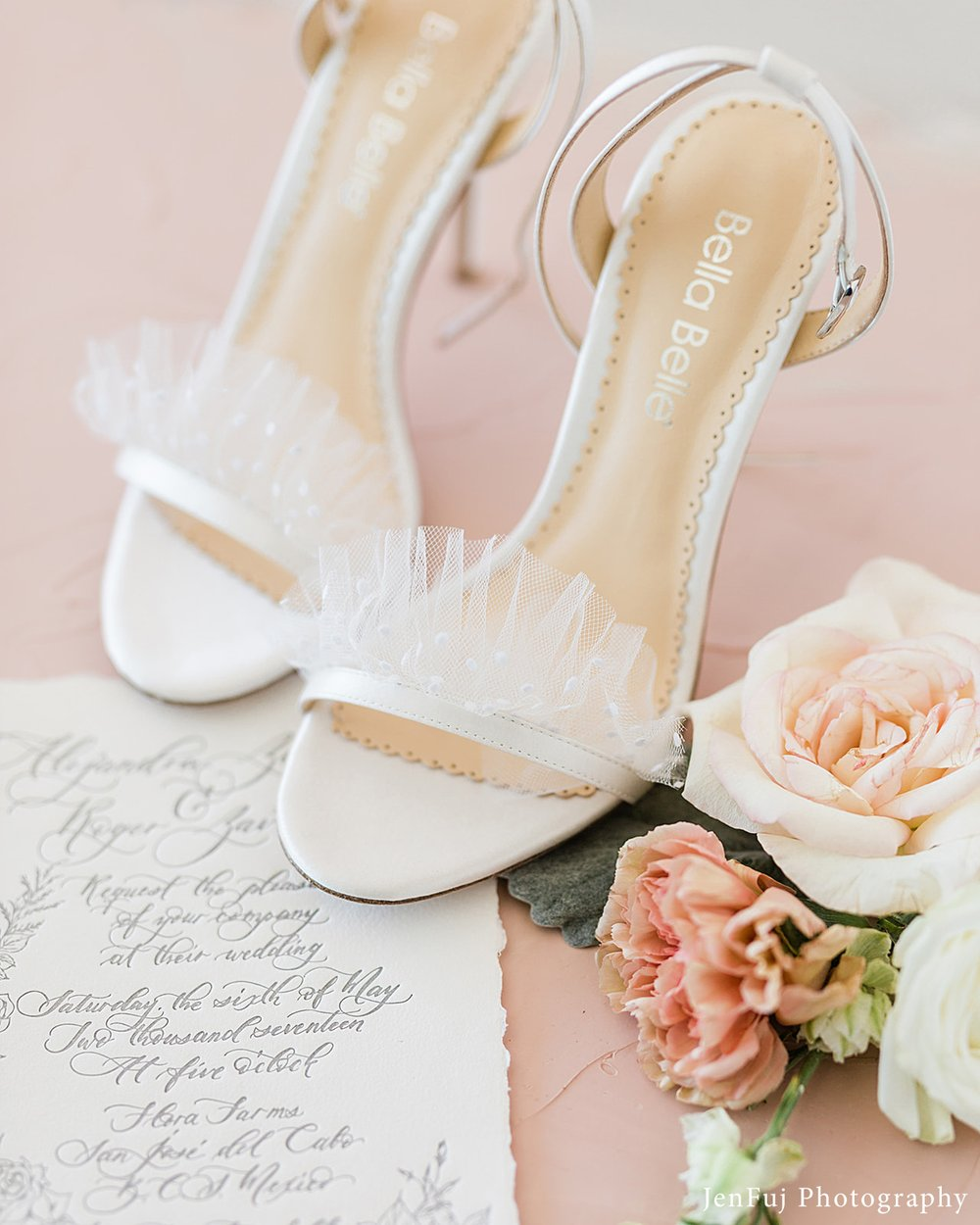 bella belle bridget ivory polka dot wedding shoes