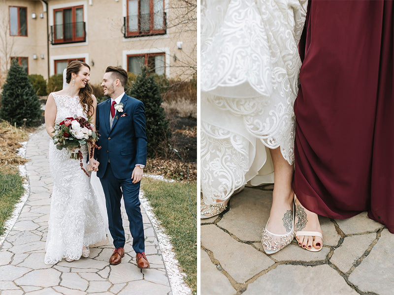 bella belle real bride brooke in willow wedding flat