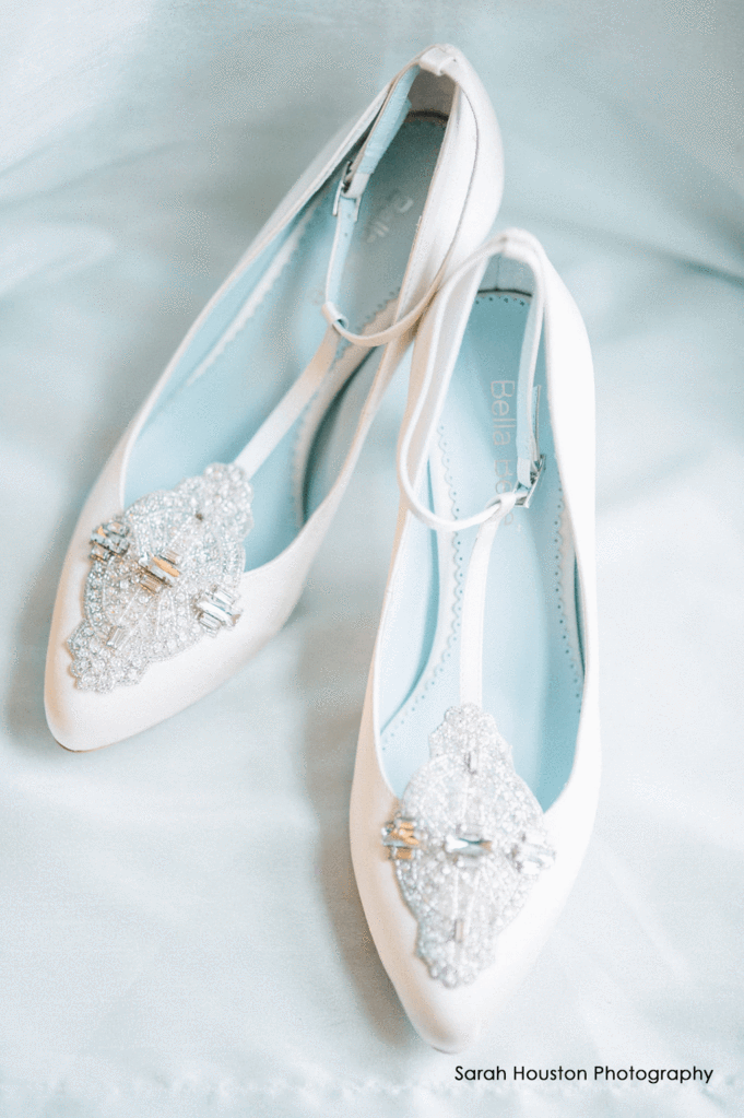 bella belle ivory art deco wedding shoes