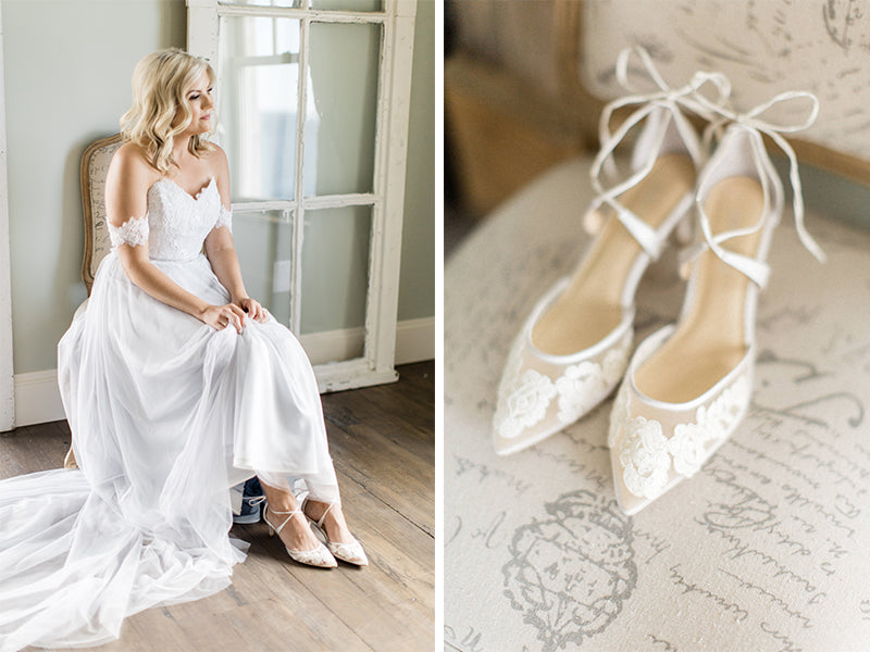 bella belle real bride review amelia low heel
