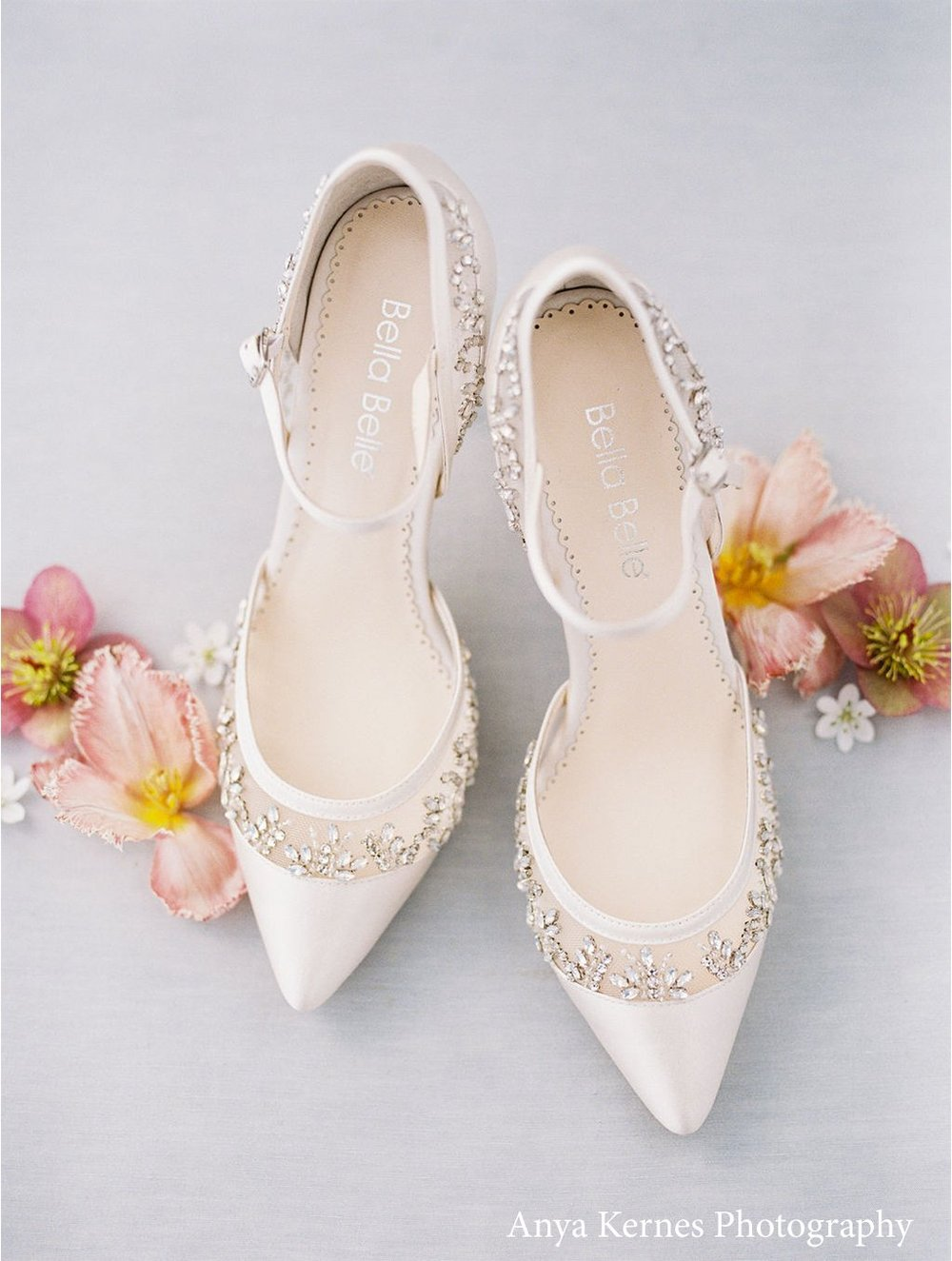 bella belle emma ivory crystal wedding shoes