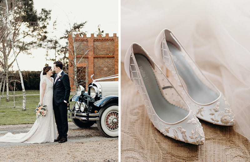 bella belle real bride emma review in cora lace heel