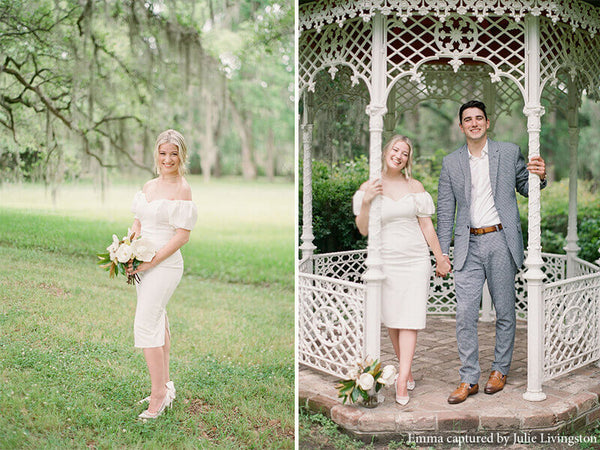 bella belle real brides elopement wedding