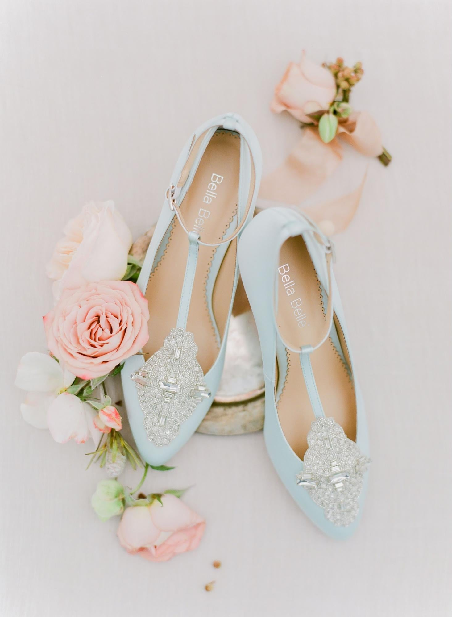 The Annalise Blue shoe.