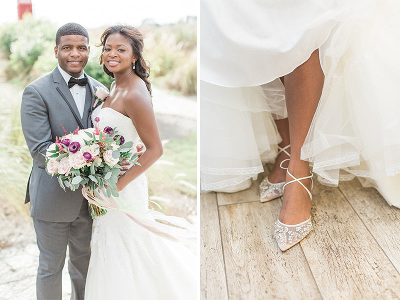 bella belle real bride reviews kira in frances ivory wedding shoe
