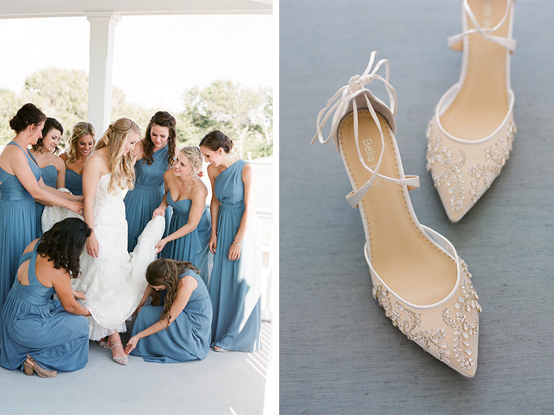 6960b41c9829 Bella Belle Shoes Reviews  Real Brides Wearing Stunning Wedding Shoes