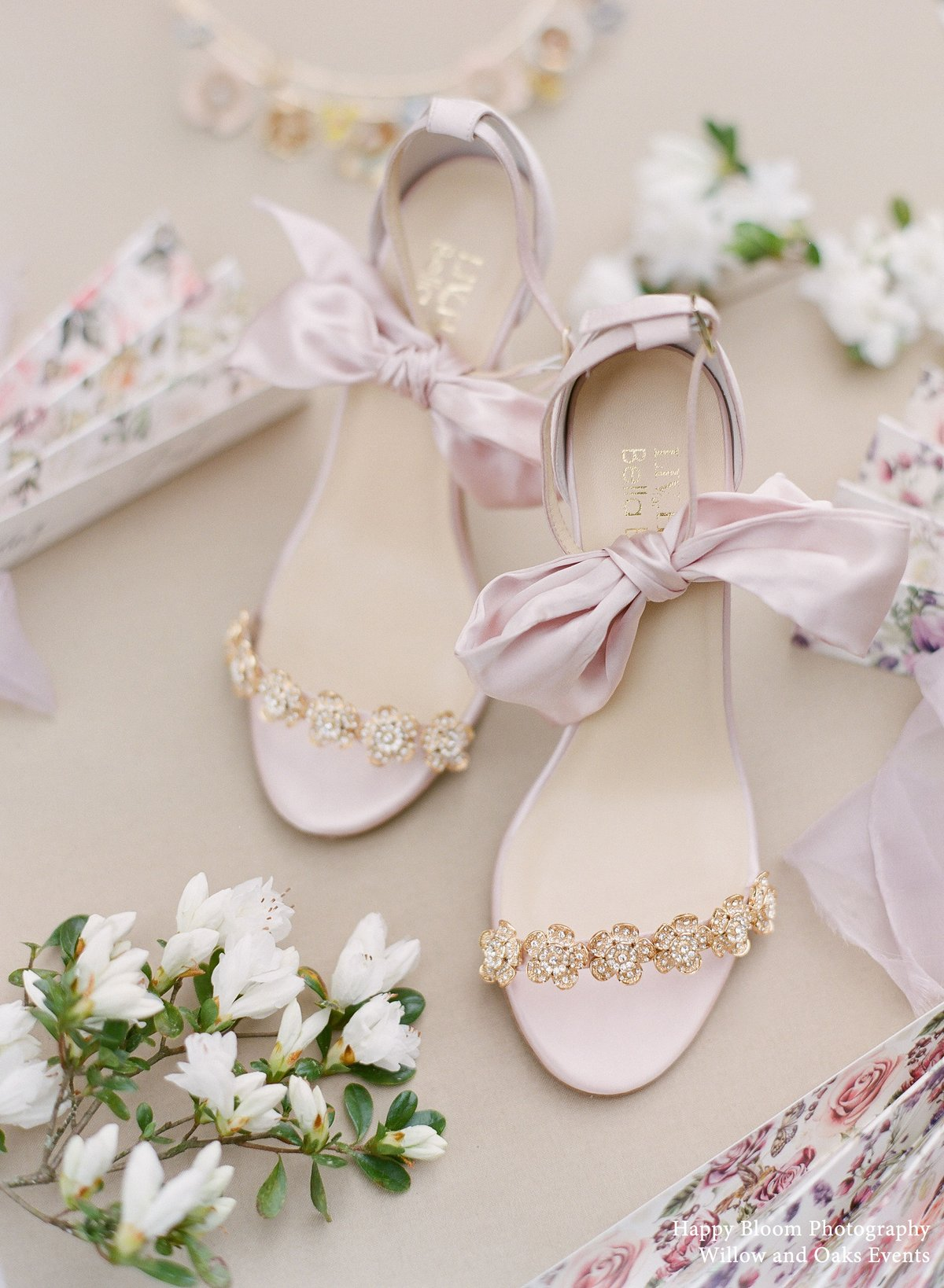 mariee blush gold wedding stiletto