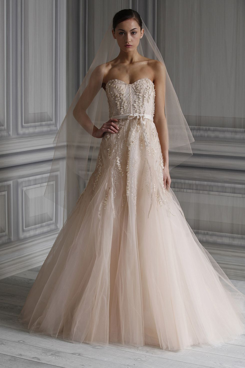 Monique Lhuillier Candy Wedding Dress