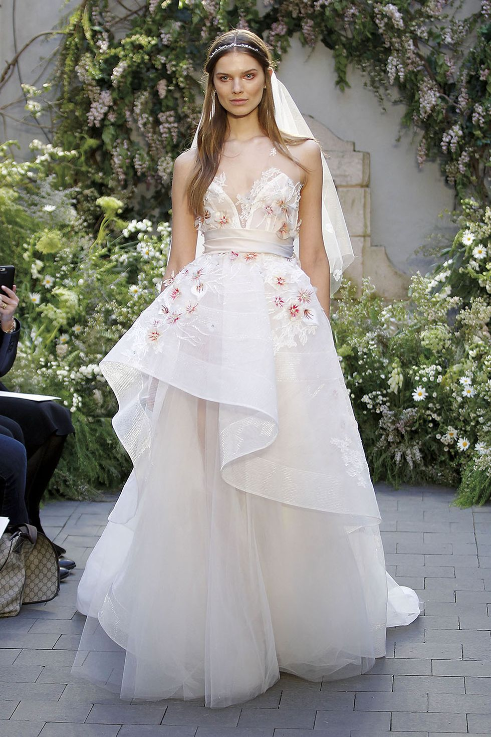 Monique Lhuillier Blossom Wedding Dress
