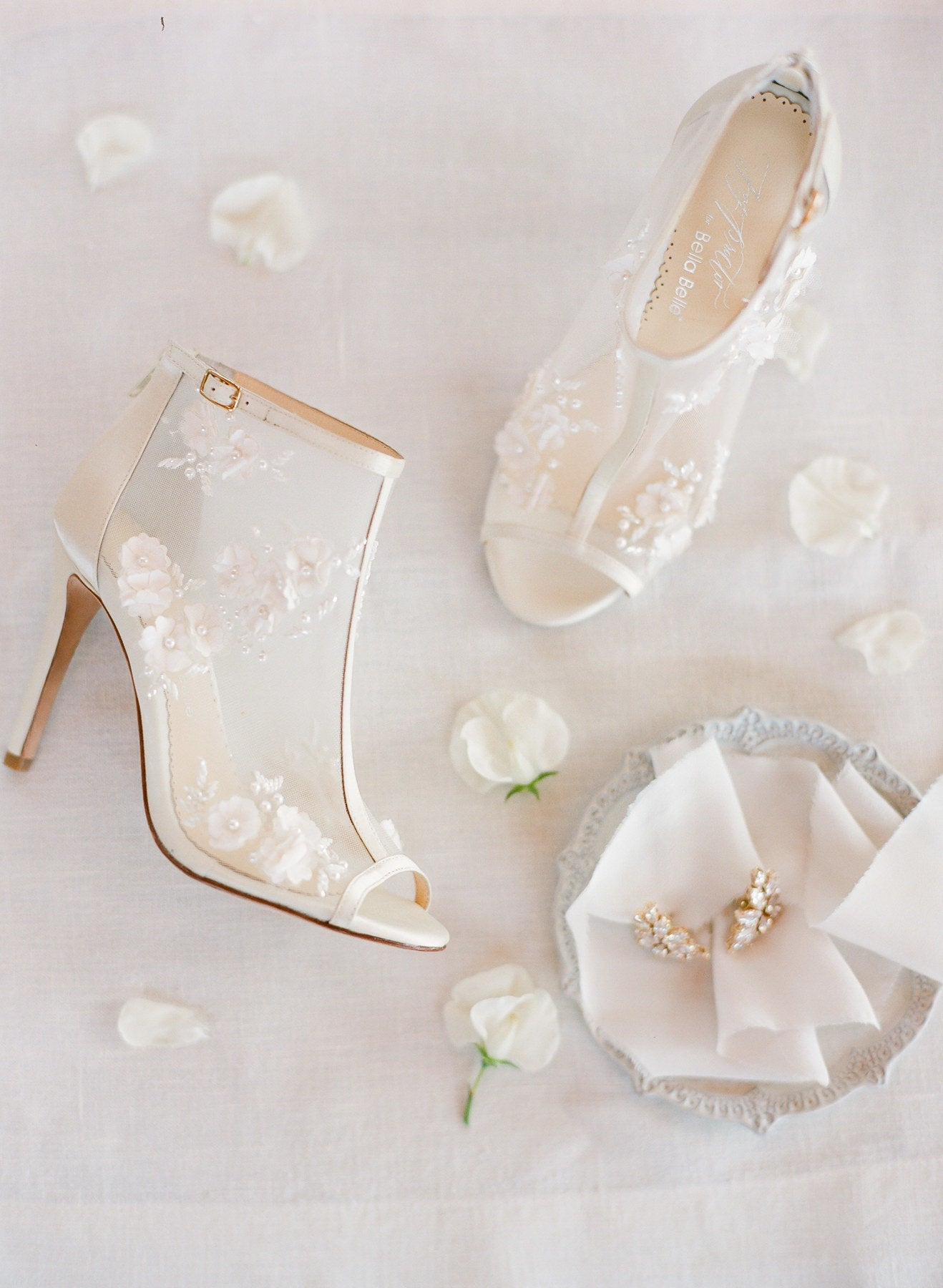 Bella Belle bootie wedding shoe