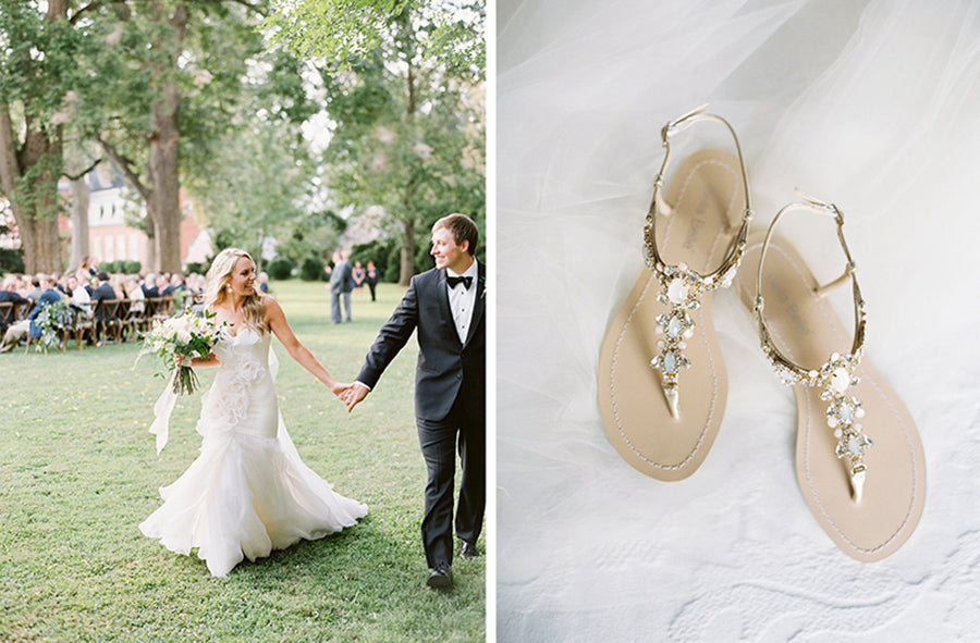 bella belle real bride alex review in luna wedding sandal