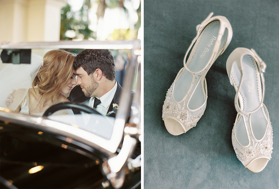 bella belle real bride alex review in paloma wedding shoe