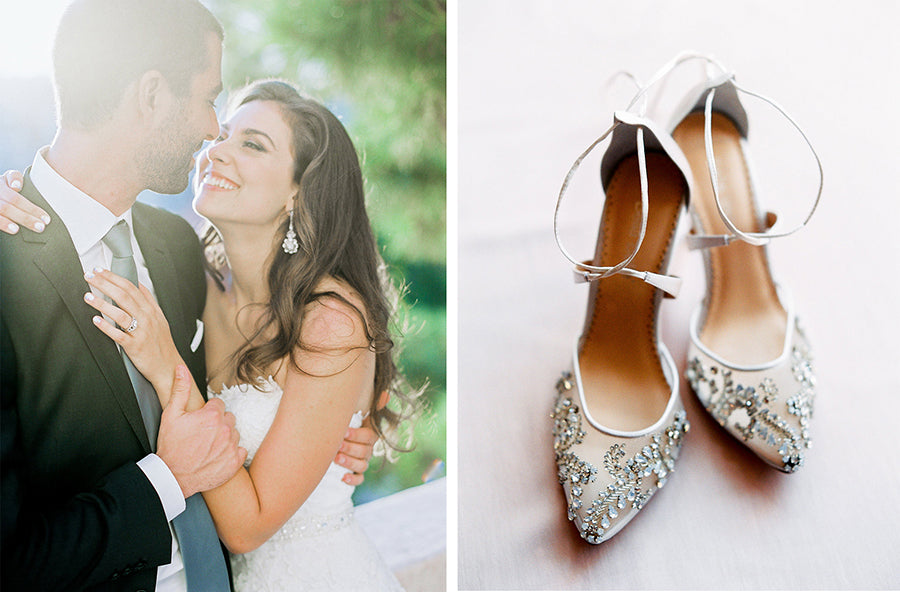 bella belle real bride rachel review in florence wedding shoe