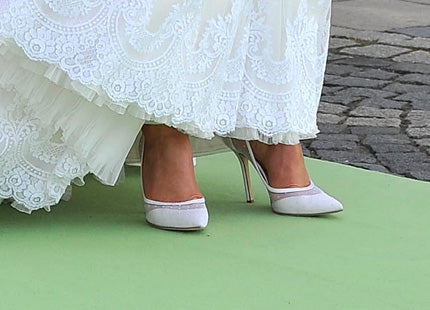 Princess Madeleine of Sweden wedding shoes