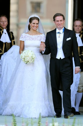 Princess Madeleine of Sweden wedding dress
