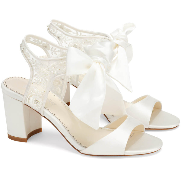 Bella Belle Camilla open toe wedding shoe