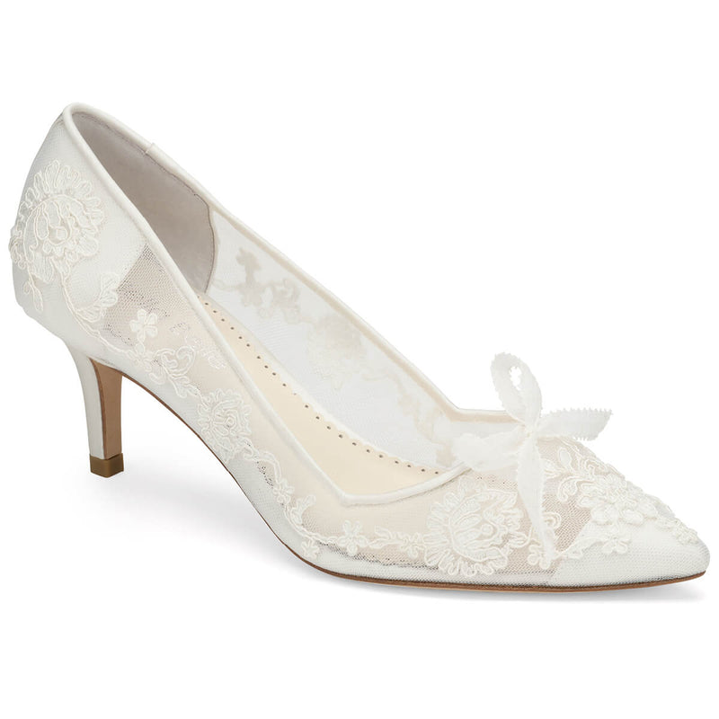 Bella Belle Monica flower wedding shoes