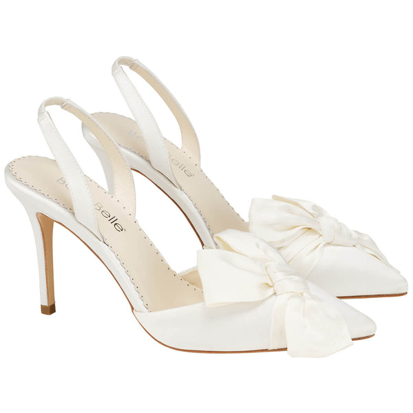 Bella Belle Reese pointed toe heels with bow