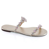 Jules jeweled wedding sandal - Side View