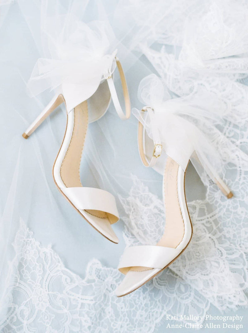 Elise by Joy Proctor wedding heels editorial