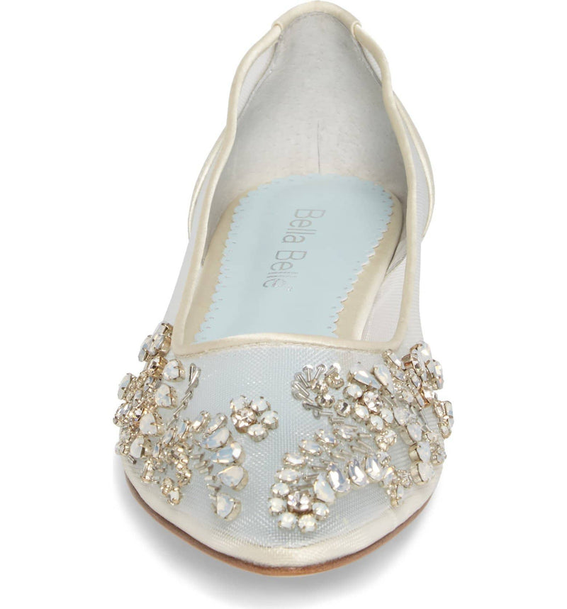 Willow comfortable wedding flats