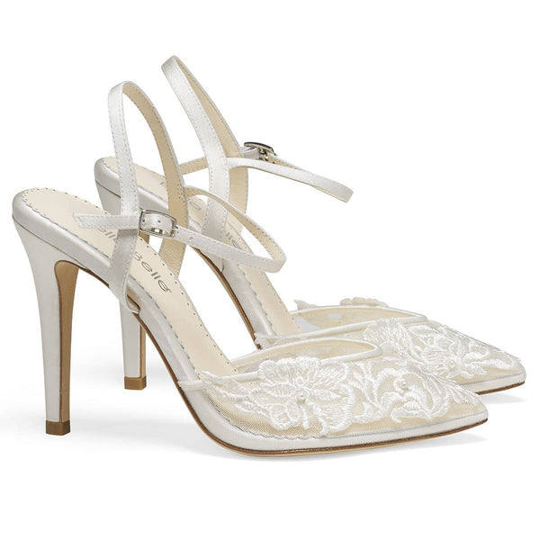 Ivory Wedding Shoes: Luxe \u0026 Comfy Ivory