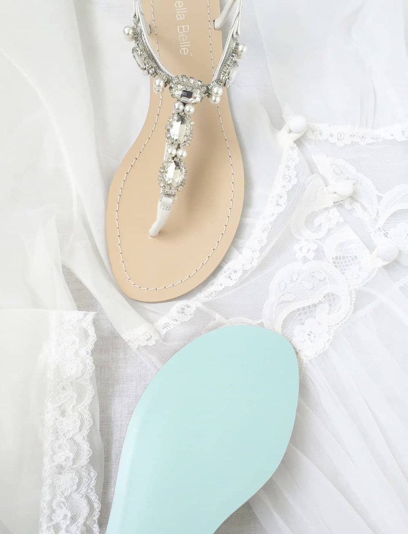 Hera jeweled wedding sandals editorial