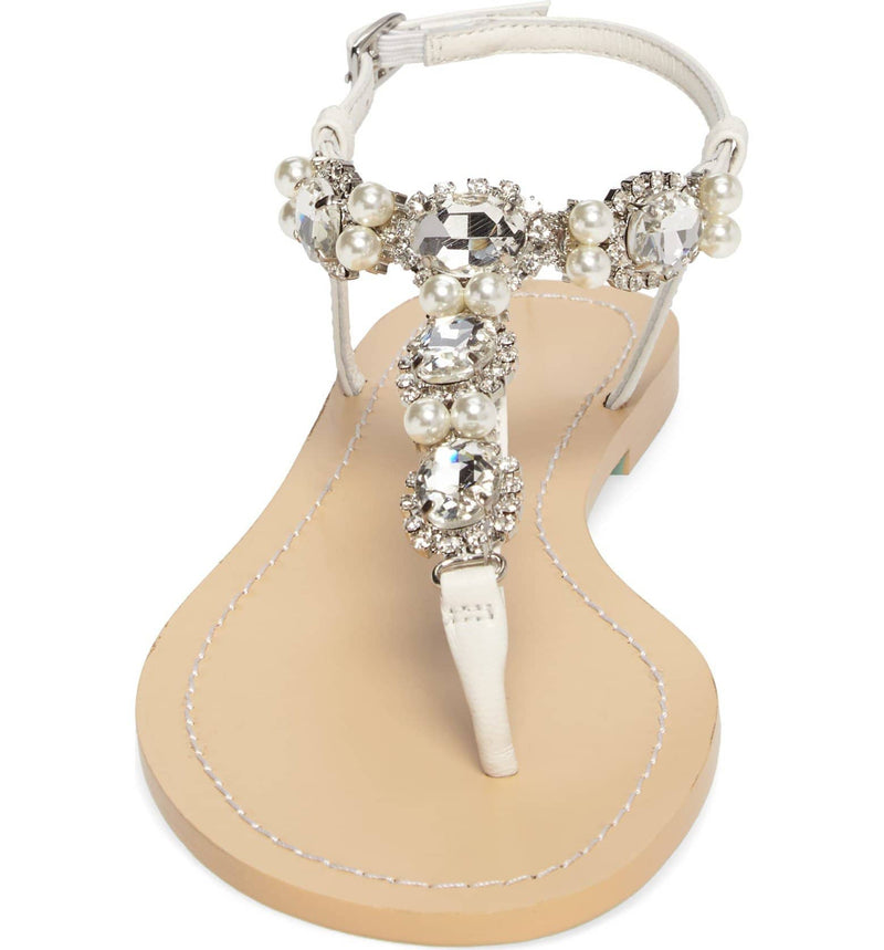 Hera jeweled wedding sandals
