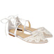 Bella Belle Alicia Lace Wedding Ballet Flats