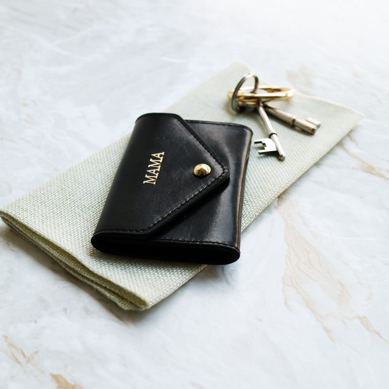 Recycled Leather Card Wallet