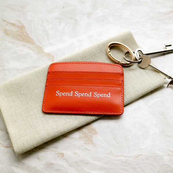 Spend Spend Spend Slim Credit Card Case