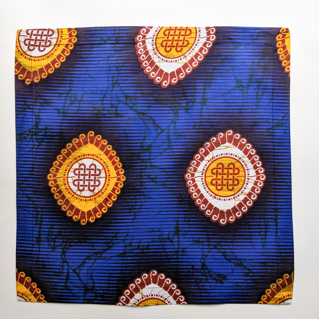 Kemi Telford Royal Blue Napkins,  Set of 4