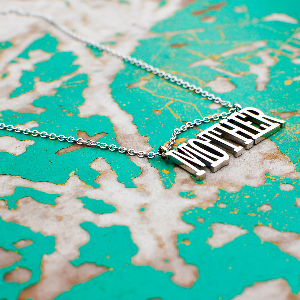 'Mother' Pendant Necklace