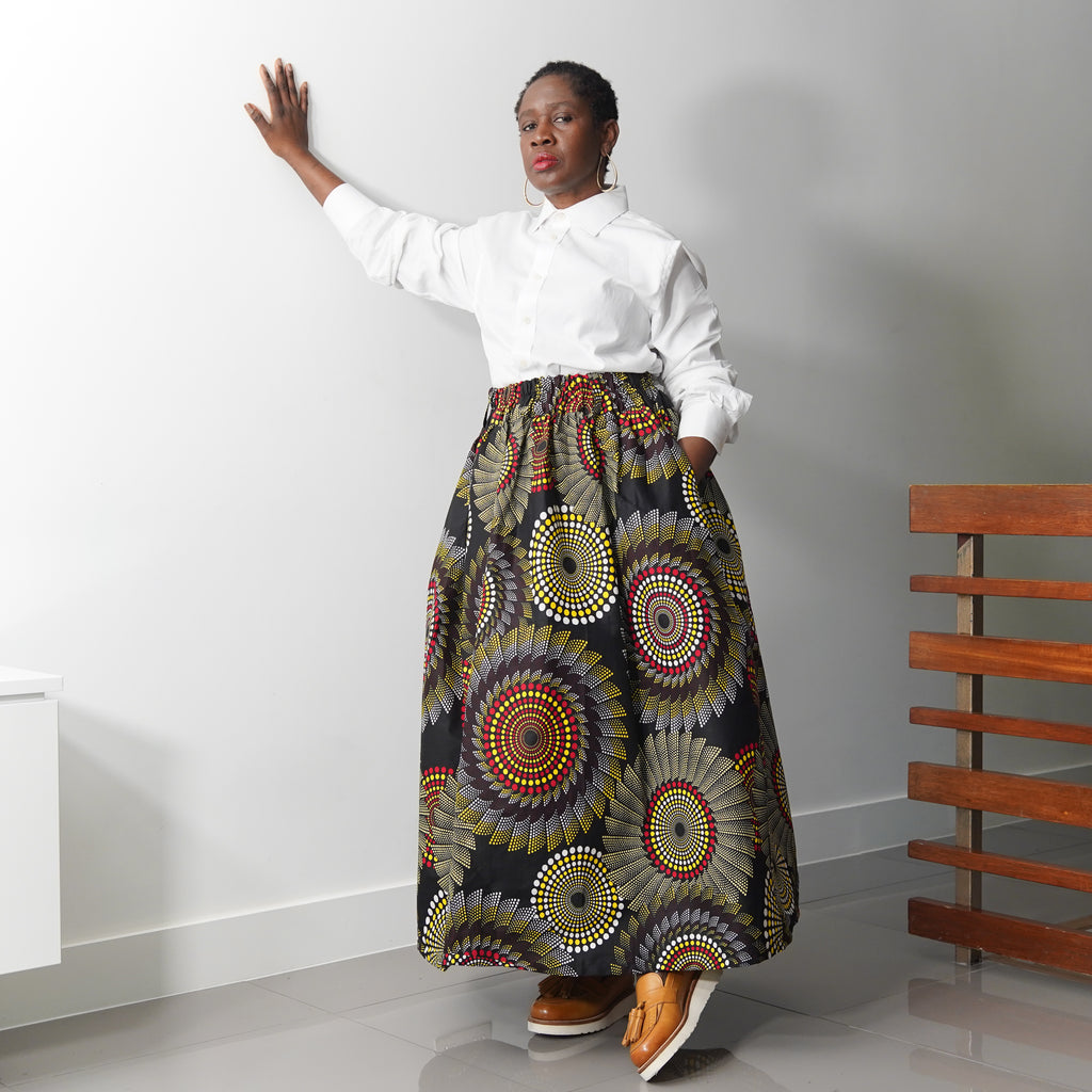 Lanre Dotted Limited Edition Gathered Skirt