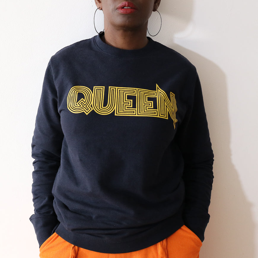 Navy Queen Unisex Banff Regen Sweatshirt