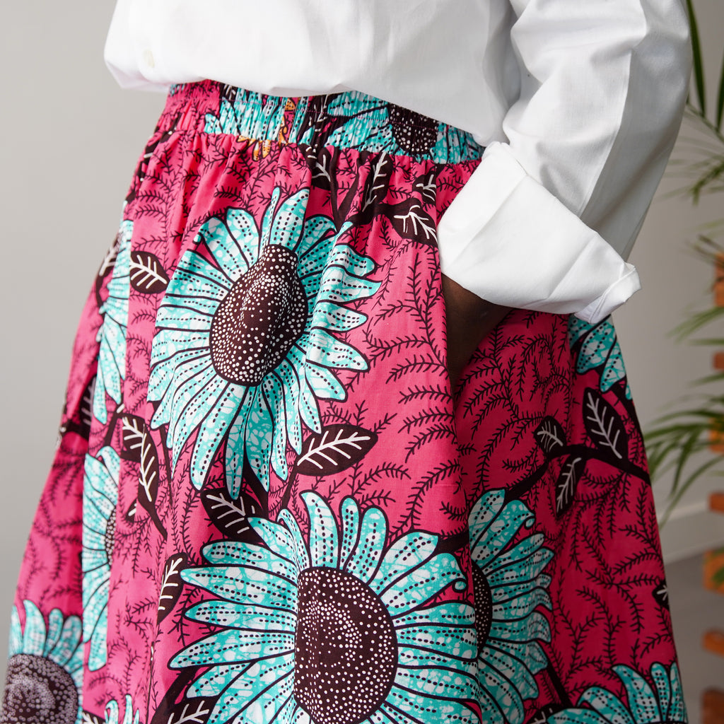 Dolapo Sunflower Skirt