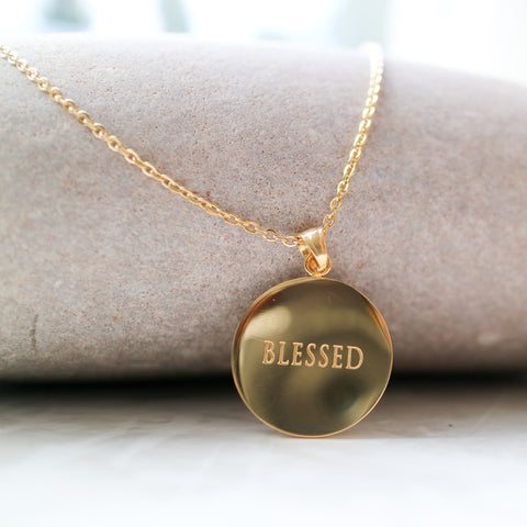 'Blessed' Necklace