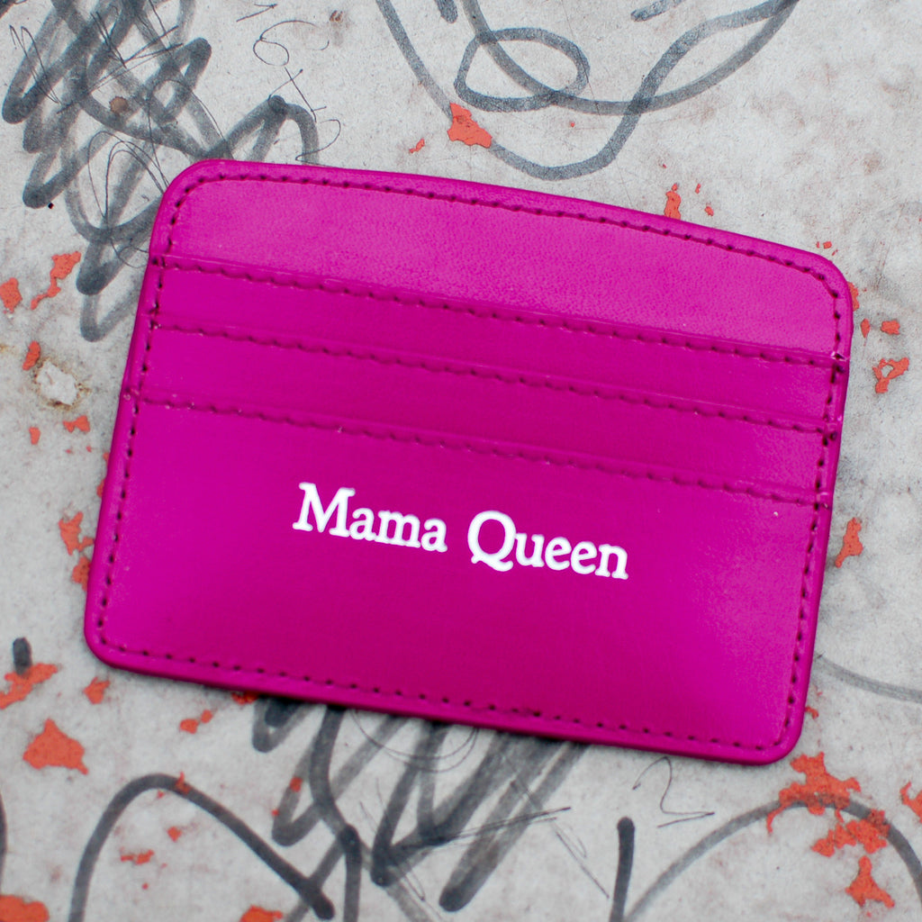 Mama Queen Slim Credit Card Case