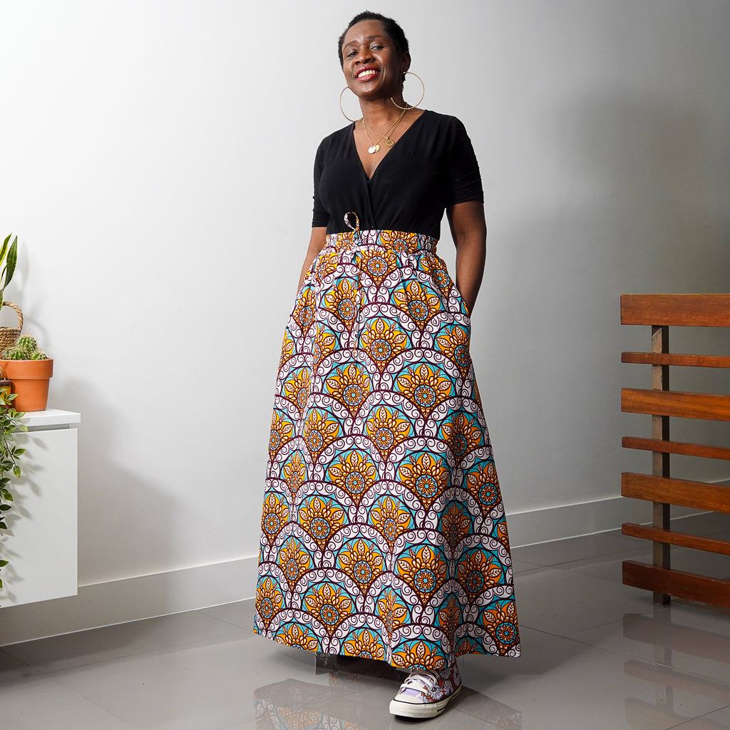 Gbam Limited Edition Drawstring  Skirt