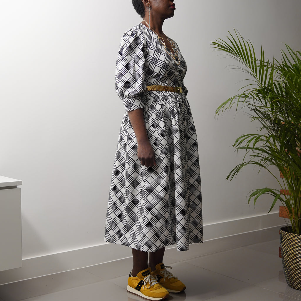Adeyemi Button Down Dress