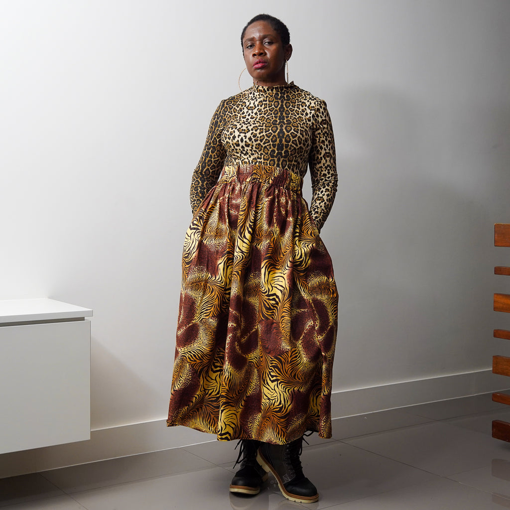 Lanre Sahara Limited Edition Gathered Skirt