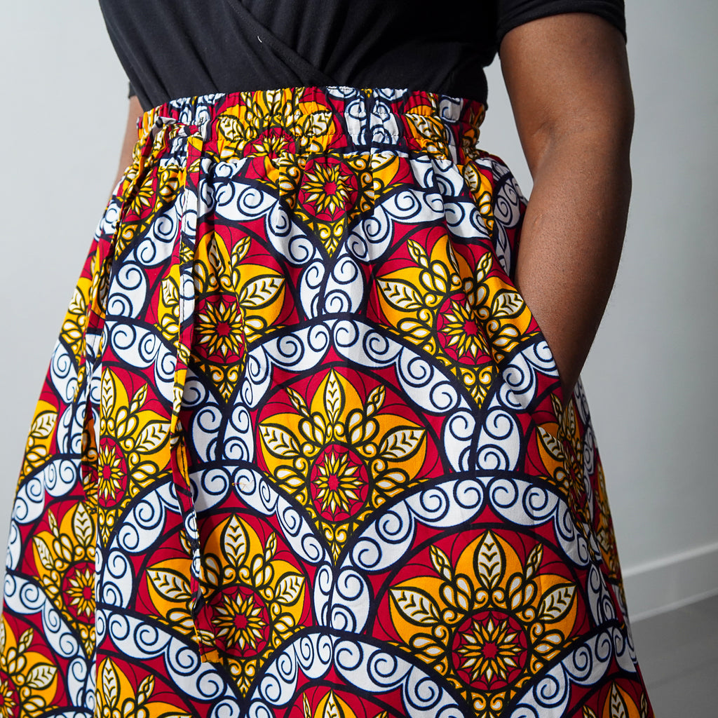 Life Is Sweet Limited Edition Drawstring  Skirt