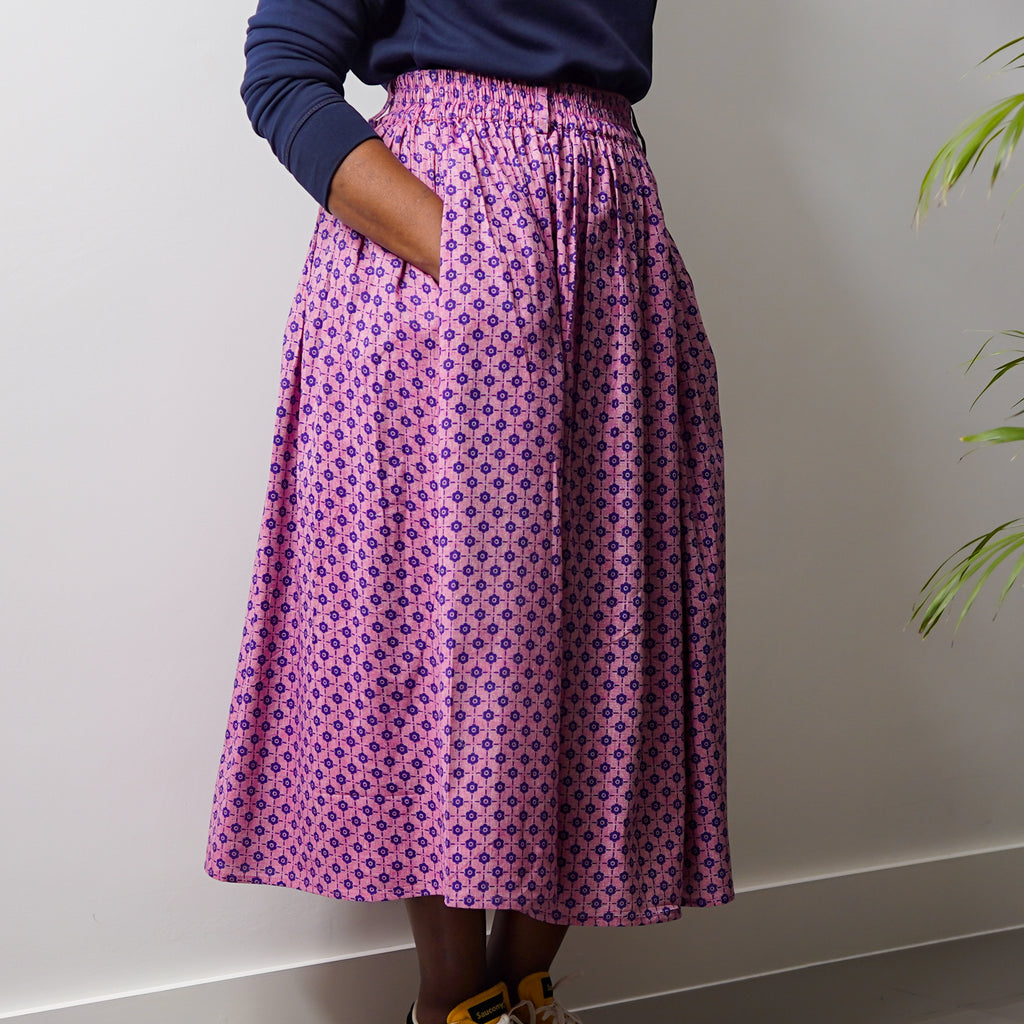 Olubunmi Pink Rose Skirt