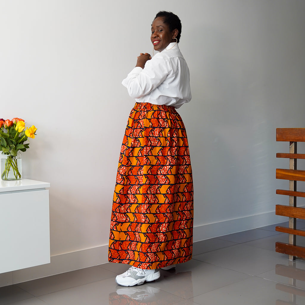Kano Arrow Maxi Skirt