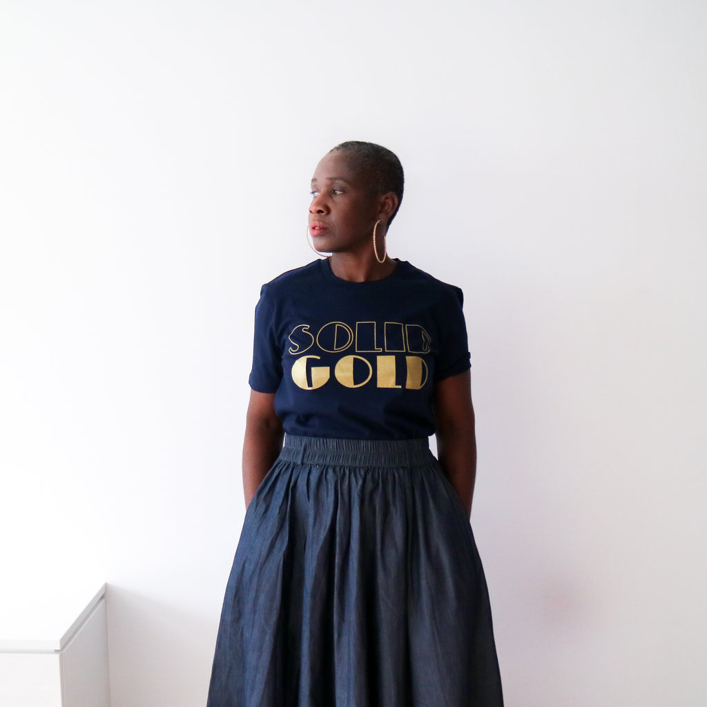 Iconic 'Solid Gold' Tee