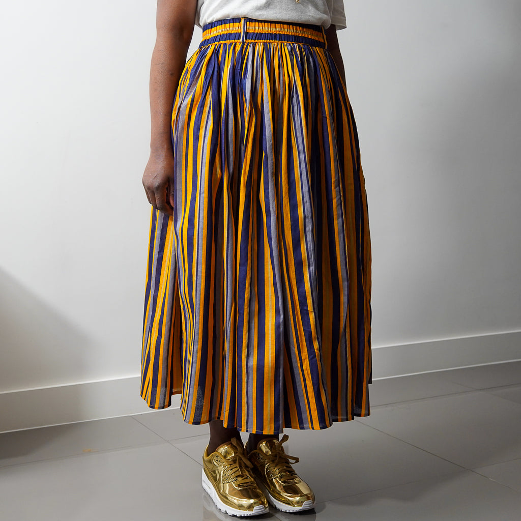Sunshine Verti Gathered Skirt