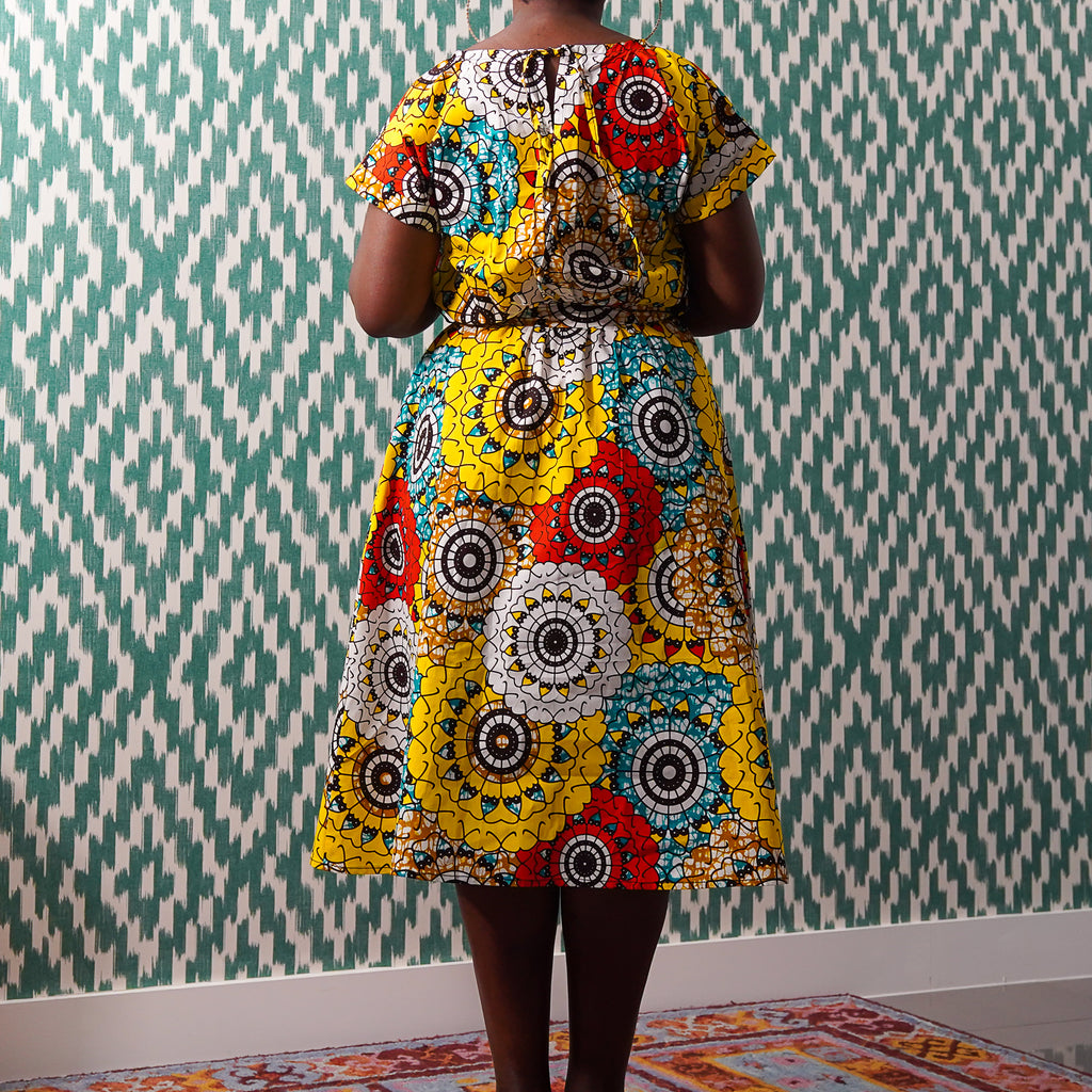 Limited Edition Lanre Ope Belted Dress