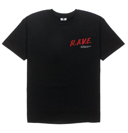 RESIST REALITY TEE [BLACK] - Boogiemade